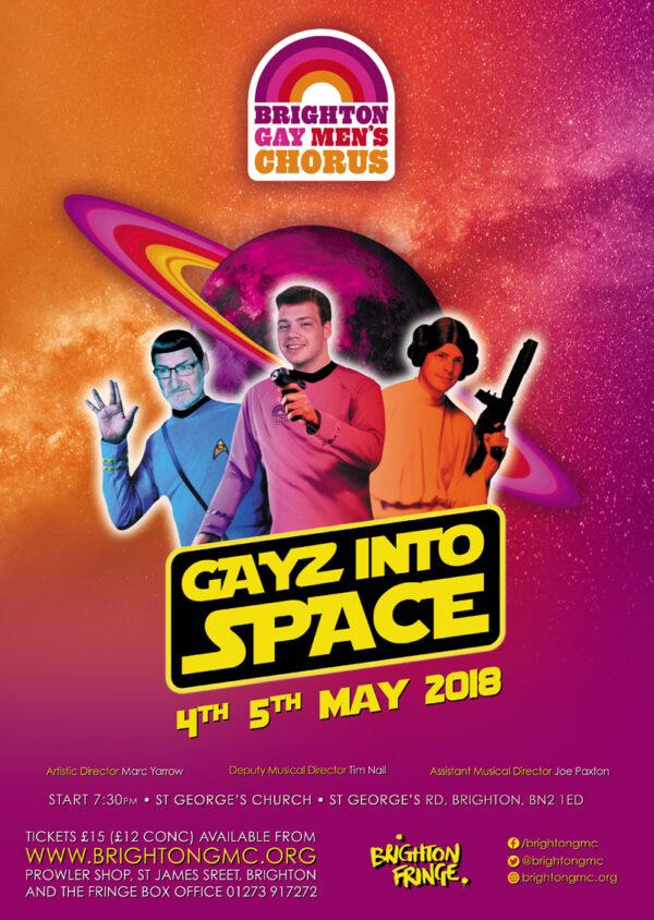 Gayz Into Space
